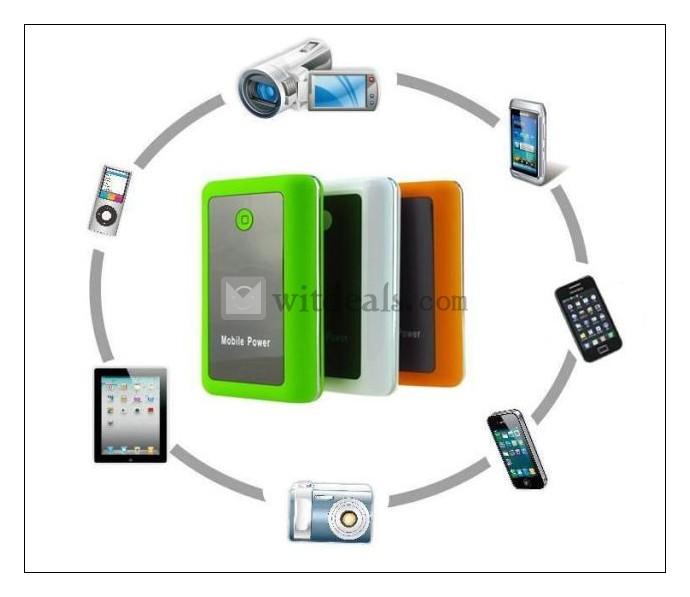 iPhone5充電器/モバイルバッテリ