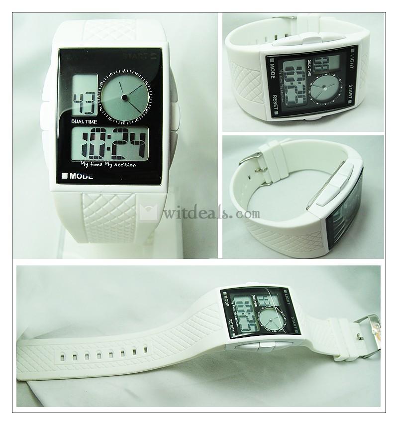 デジタル腕時計 LED腕時計