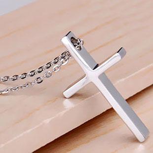 十字架ネックレス ペア