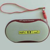 携帯型Bluetoothポータブルスピーカー レッド