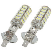 H1 SMD LEDフォグライト/フォグライトバルブ68LED Xenonホワイト