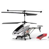 27MHz 超小型 室内外3.5ch rcヘリコプター LEDライト付き シルバー