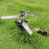 ledライト付き 3ch RCヘリ ミニヘリコプター 大人気 子供向け ブラック