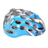 「蜂の巣」式 一体成型タイプ 自転車ヘルメット ベンチレーション穴41個 ブルー