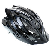 BELL/ベル 世界水準の自転車用ヘルメット バイザー付 一体成型 ブラック