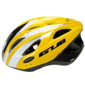 LED付ヘルメット/サイクルヘルメット/サイクリング用ヘルメット/自転車用ヘルメット イエロー