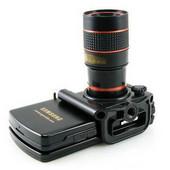 ユニバーサル携帯単眼鏡 汎用 8倍遠距離撮影器望遠レンズ