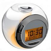 LED置時計 置時計LED デジタル時計 LEDクロック アラーム 色チェンジ機能付き
