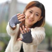 指抜きグローブ レディース手袋 指なし 防寒手袋 ファッション 可愛い 手袋 便利